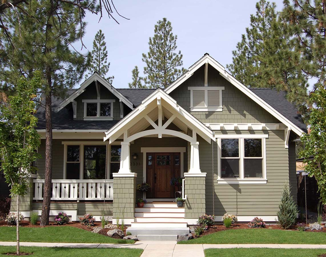 Custom house plans designs bend oregon home design for Custom craftsman home builders