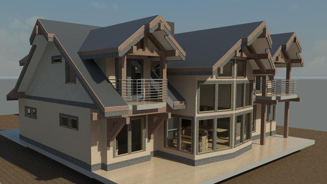 Home rendering and plan designs dream home and house plans bim - Economical homes to build decor ...