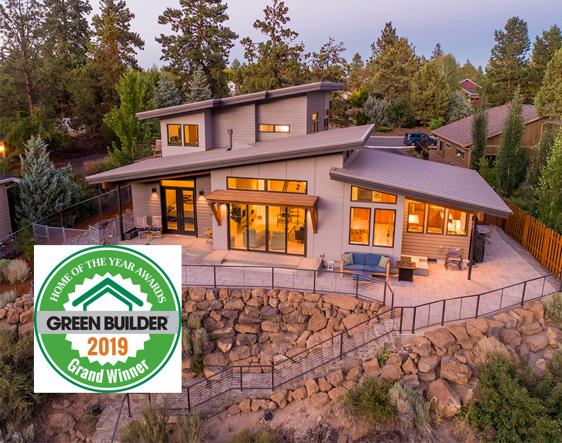 2019 Green Builder - Home of the year Grand Winner