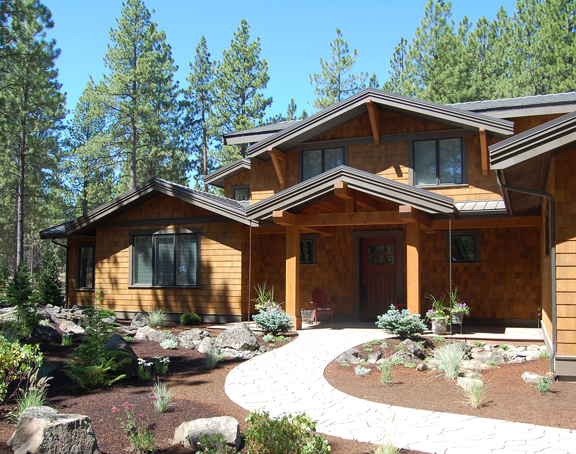 Custom home design bend oregon home plans designs for Custom home designs