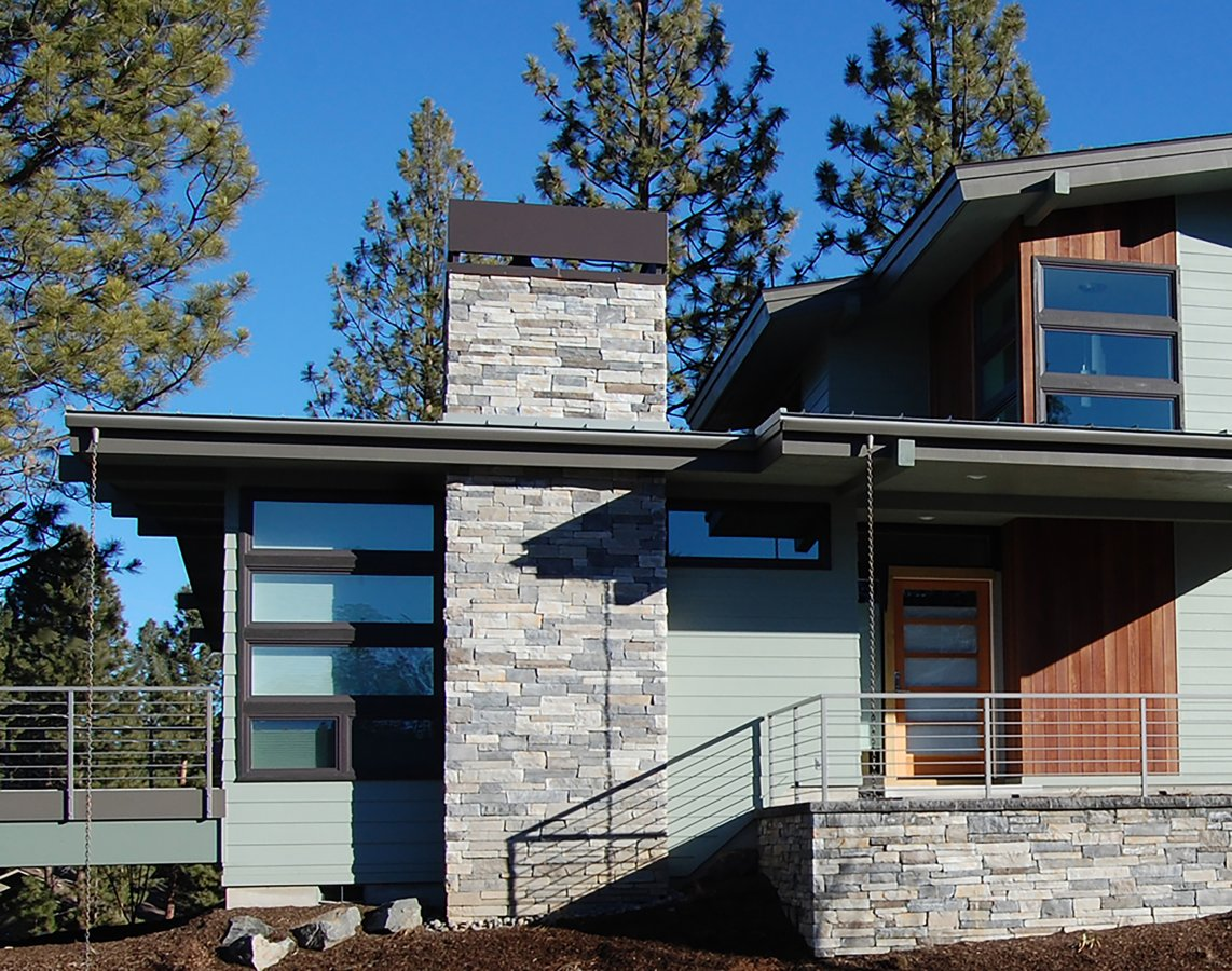 Custom home design bend oregon home plans designs for Shelter studios