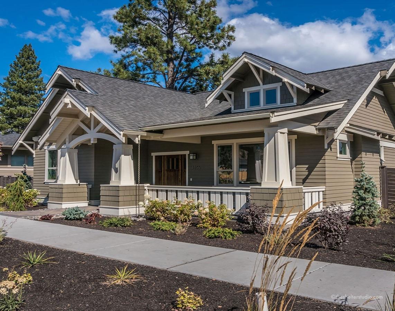 Custom home designs bend oregon the shelter studio for Custom craftsman homes