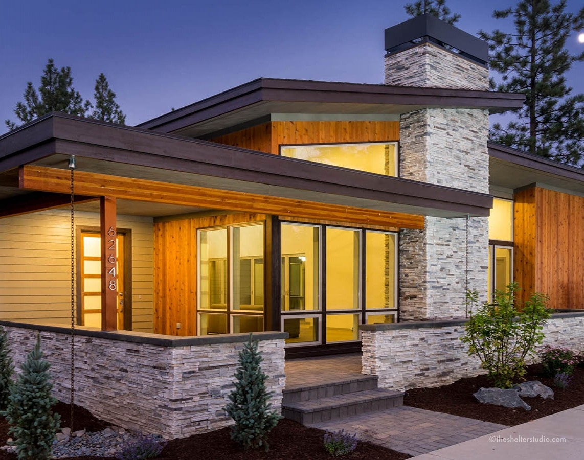 gallery of custom home designs, plans | The Shelter Studio ...